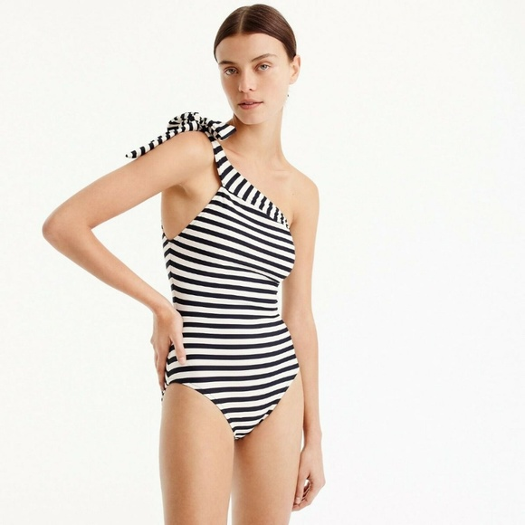 J. Crew Other - NWT J.Crew One-shoulder one-piece swimsuit Size 16
